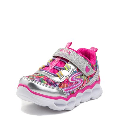 Alternate view of Toddler Skechers Shopkins Lume-Lux Miss Pressy Sneaker