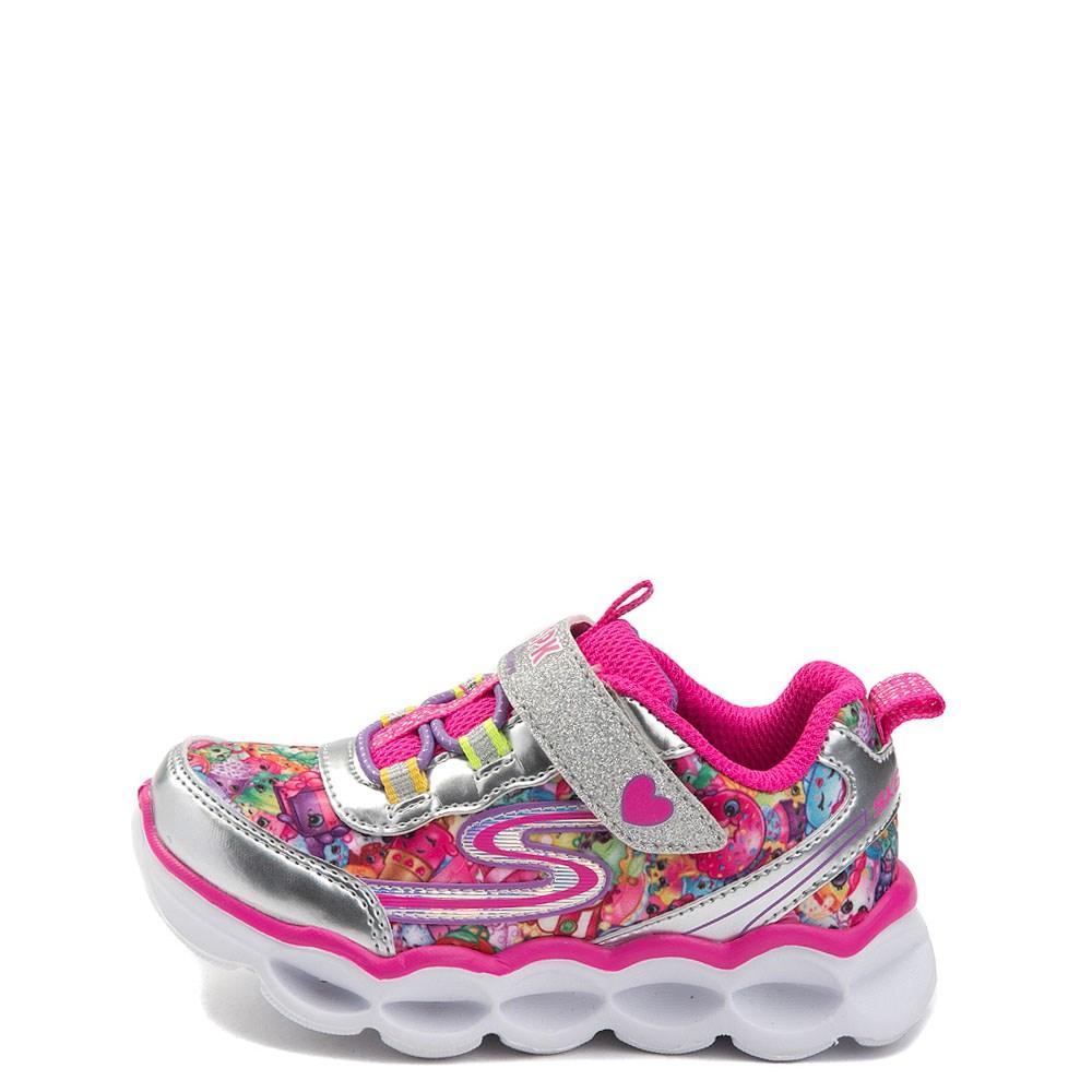 Toddler Skechers Shopkins Lume-Lux Miss Pressy Sneaker