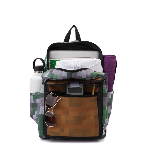 alternate view Minecraft Treasure Chest Backpack - MultiALT1