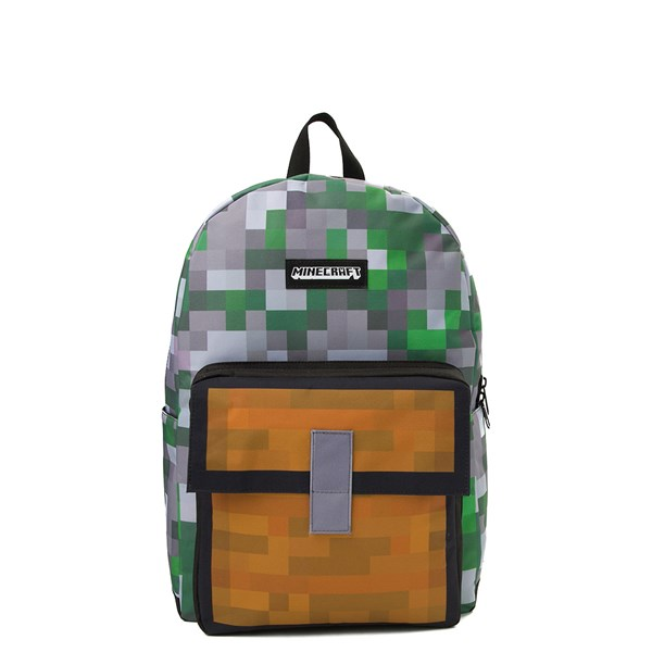 Main view of Minecraft Treasure Chest Backpack - Multi