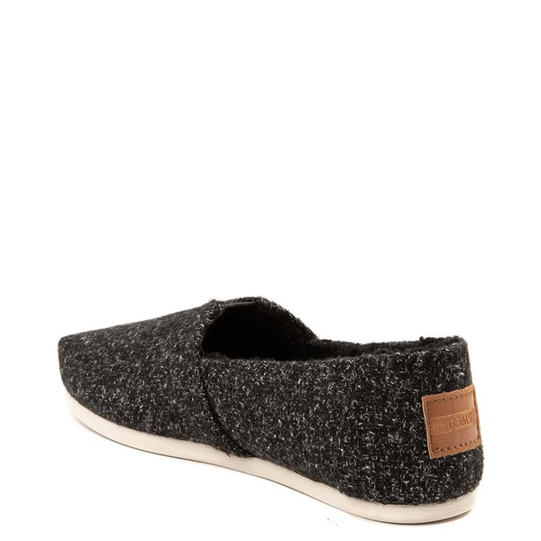 alternate view Womens TOMS Classic Felt Slip On Casual ShoeALT2