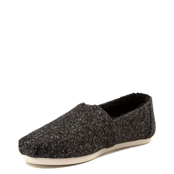 alternate view Womens TOMS Classic Felt Slip On Casual ShoeALT3