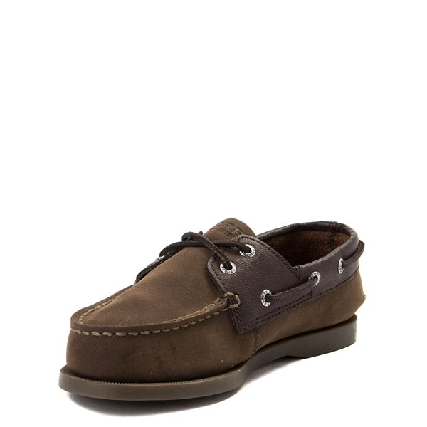alternate view Sperry Top-Sider Authentic Original Boat Shoe - Little Kid / Big Kid - BrownALT3