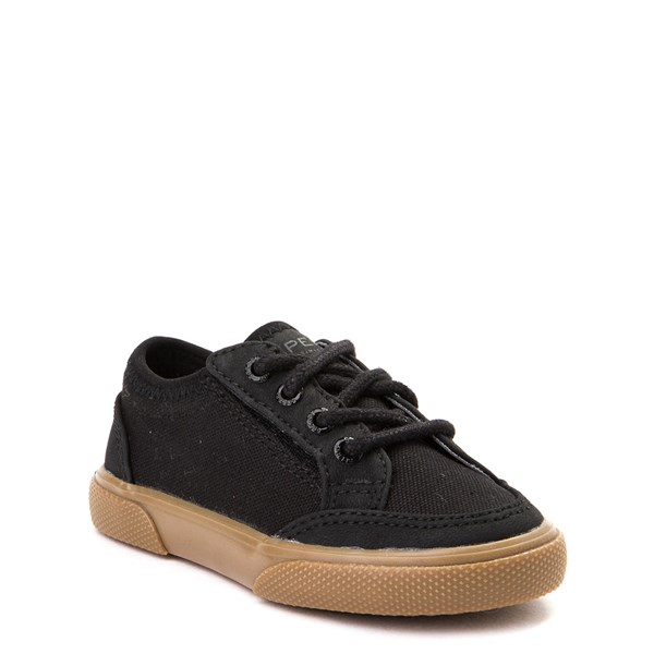 Alternate view of Sperry Top-Sider Deckfin Boat Shoe - Toddler / Little Kid - Black / Gum