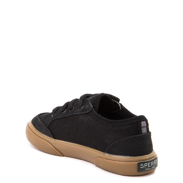 alternate view Sperry Top-Sider Deckfin Boat Shoe - Toddler / Little Kid - Black / GumALT2