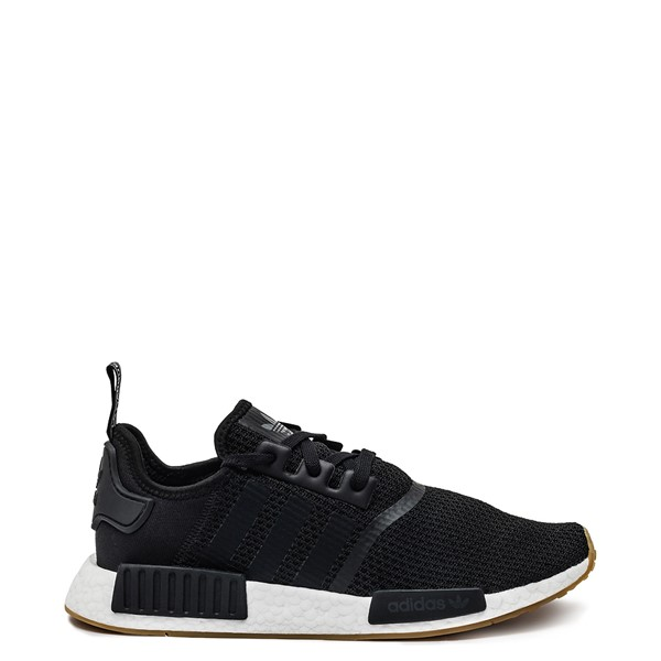 Mens adidas NMD R1 Athletic Shoe - Black / Gum