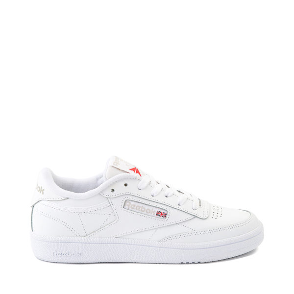 Main view of Womens Reebok Club C 85 Athletic Shoe - White / Light Gray