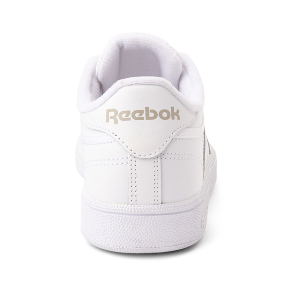alternate view Womens Reebok Club C 85 Athletic Shoe - White / Light GrayALT4