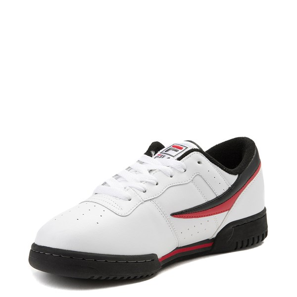 alternate view Mens Fila Original Fitness Athletic Shoe - WhiteALT3
