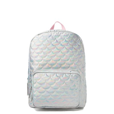 Quilted Chrome Backpack