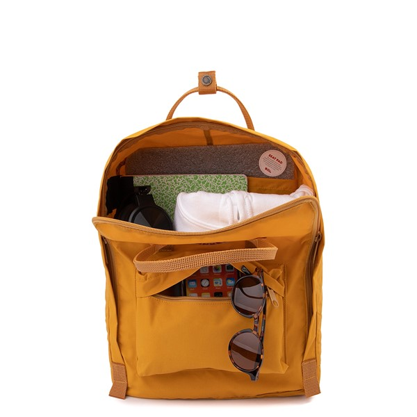 alternate view Fjallraven Kanken Backpack - Ochre YellowALT1