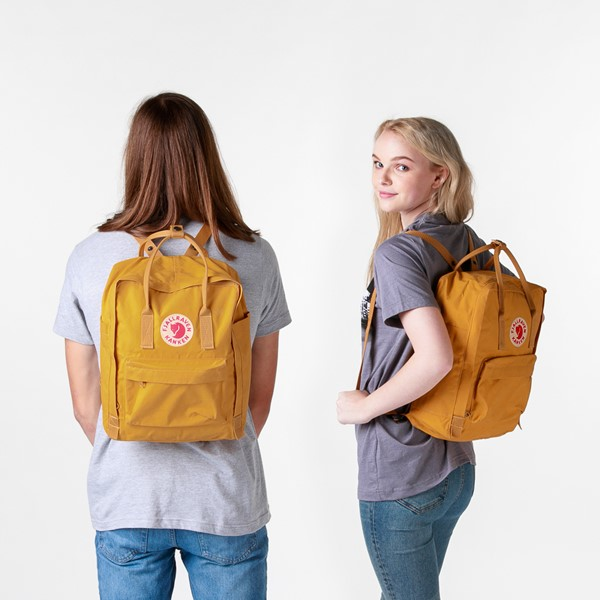 alternate view Fjallraven Kanken Backpack - Ochre YellowALT1BADULT