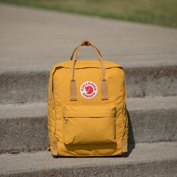 alternate view Fjallraven Kanken Backpack - Ochre YellowALT1BB