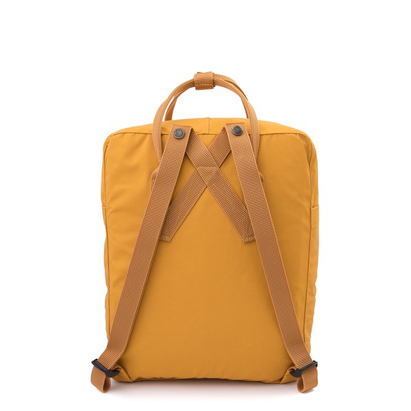alternate view Fjallraven Kanken Backpack - Ochre YellowALT2