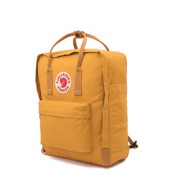 alternate view Fjallraven Kanken Backpack - Ochre YellowALT4
