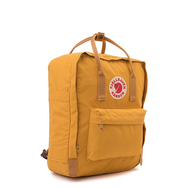 alternate view Fjallraven Kanken Backpack - Ochre YellowALT4B