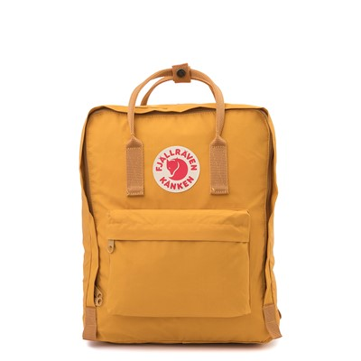 Main view of Fjallraven Kanken Backpack - Ochre Yellow
