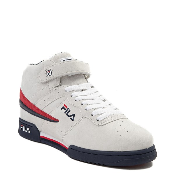 alternate view Mens Fila F-13 Athletic Shoe - WhiteALT1