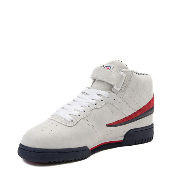 alternate view Mens Fila F-13 Athletic Shoe - WhiteALT3