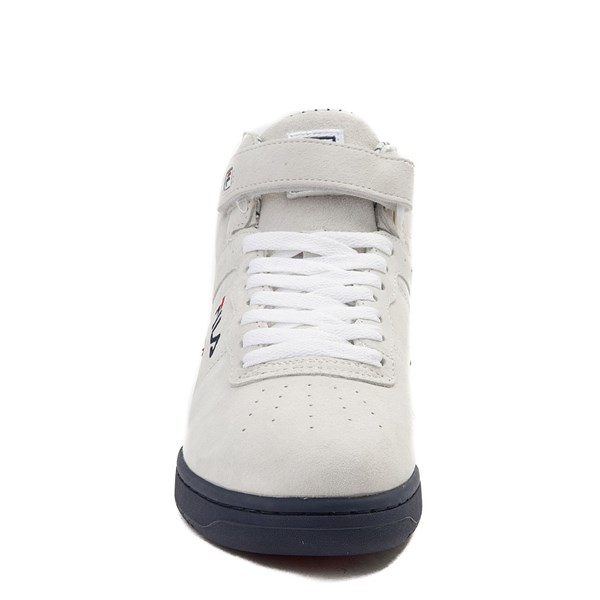 alternate view Mens Fila F-13 Athletic Shoe - WhiteALT4