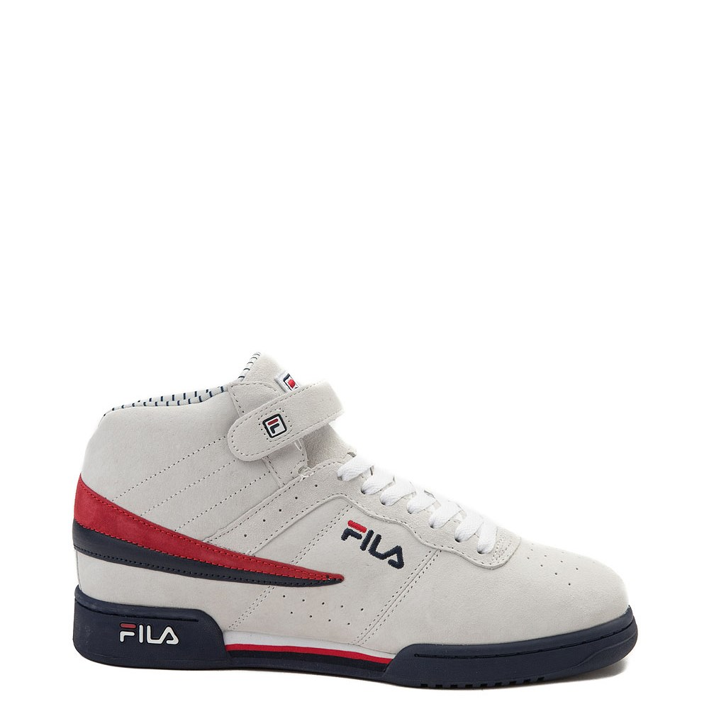 Mens Fila F-13 Athletic Shoe - White