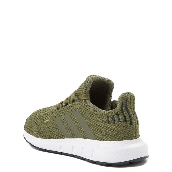alternate view adidas Swift Run Athletic Shoe - Baby / Toddler - OliveALT2