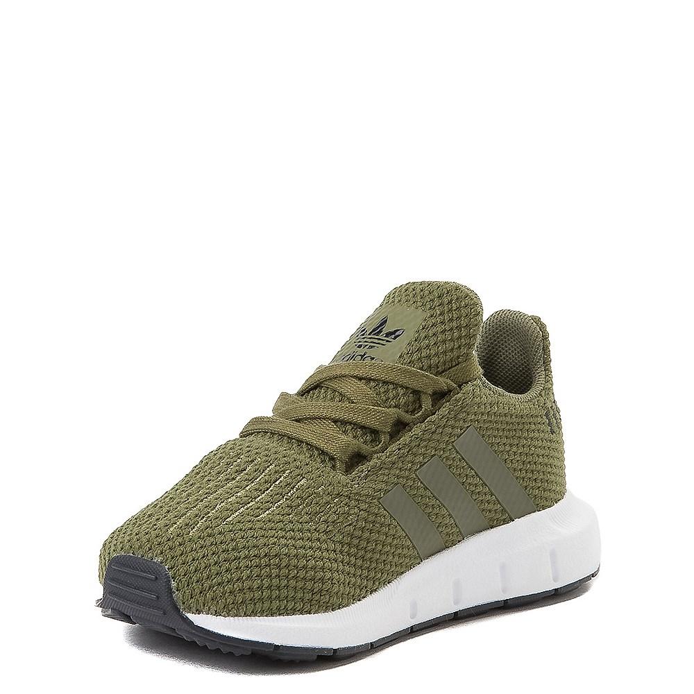 adidas Swift Run Athletic Shoe - Baby