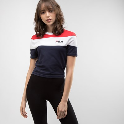 Womens Fila Maya Crop Tee