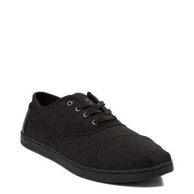 Alternate view of Mens TOMS Donovan Casual Shoe - Black