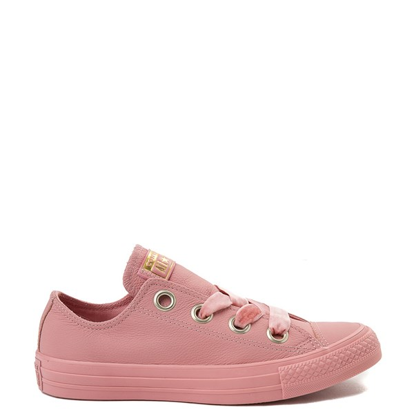 Womens Converse Chuck Taylor All Star Big Eyelets Lo Leather Sneaker - Pink
