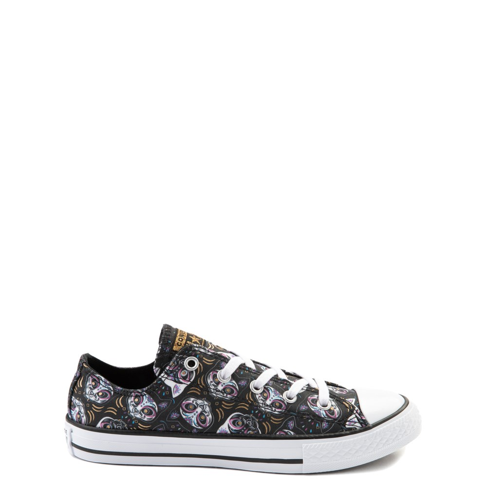 Converse Chuck Taylor All Star Lo Sugar Skull Cats Sneaker - Little Kid