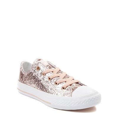 Alternate view of Converse Chuck Taylor All Star Lo Glitter Sneaker - Little Kid / Big Kid