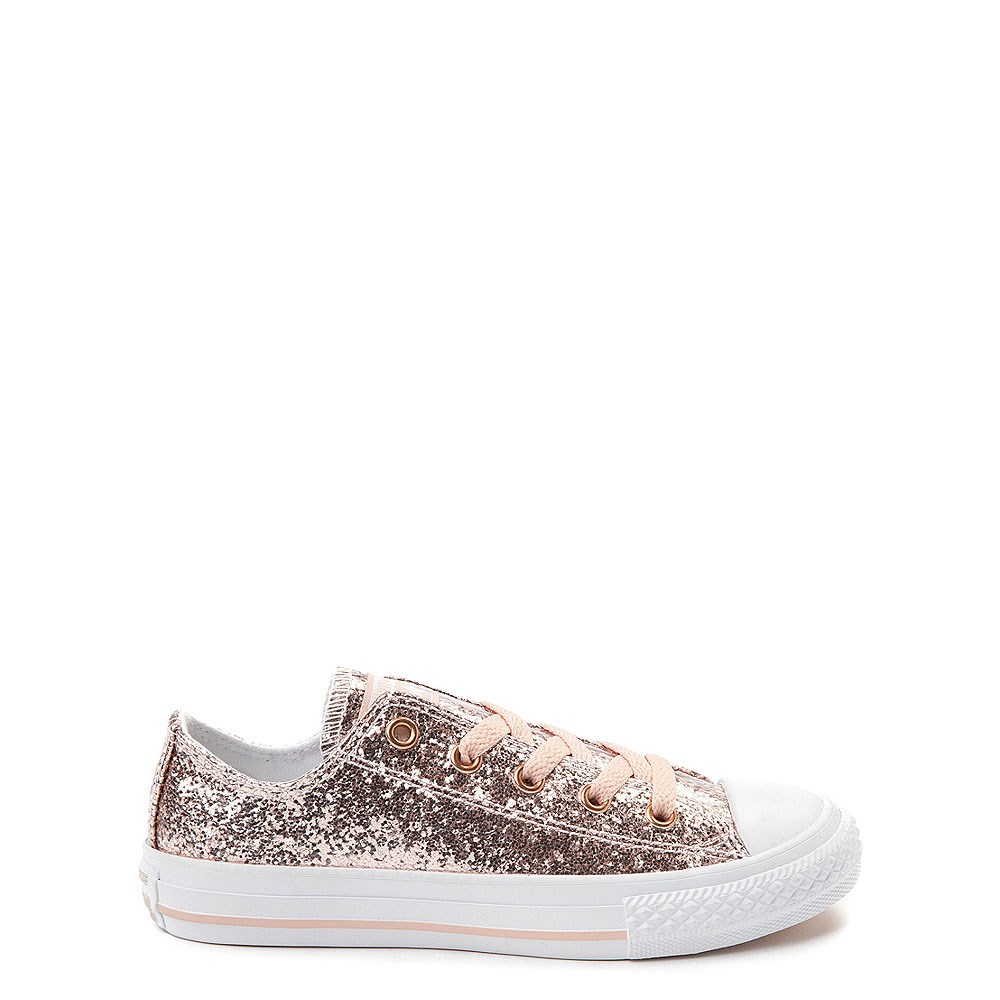 Youth/Tween Converse Chuck Taylor All Star Lo Glitter Sneaker