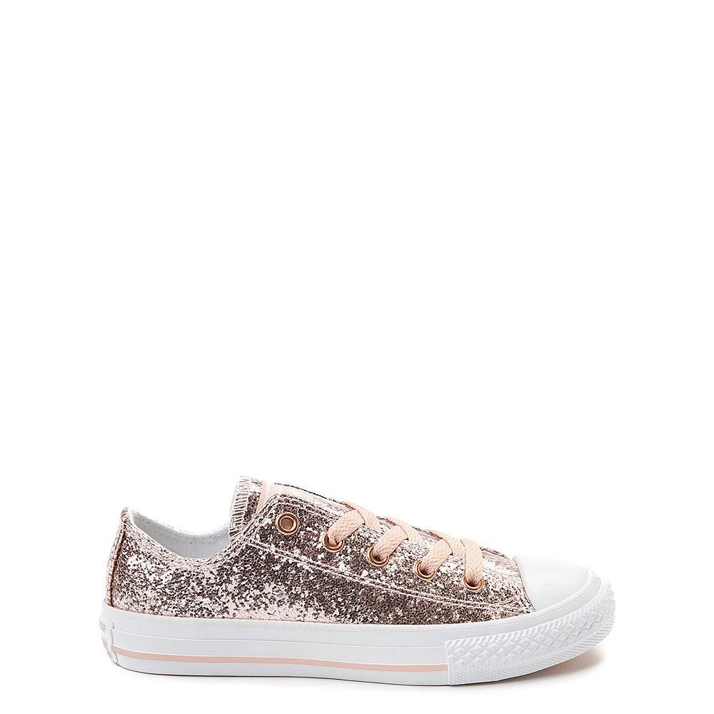 Converse Chuck Taylor All Star Lo Glitter Sneaker - Little Kid / Big Kid