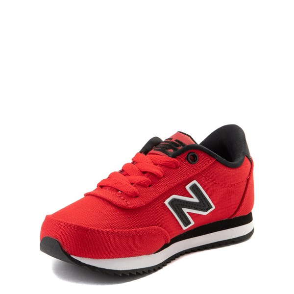 alternate view New Balance 501 Athletic Shoe - Little Kid / Big Kid - RedALT3