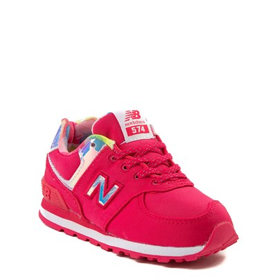 Alternate view of New Balance 574 Athletic Shoe - Baby / Toddler - Pink