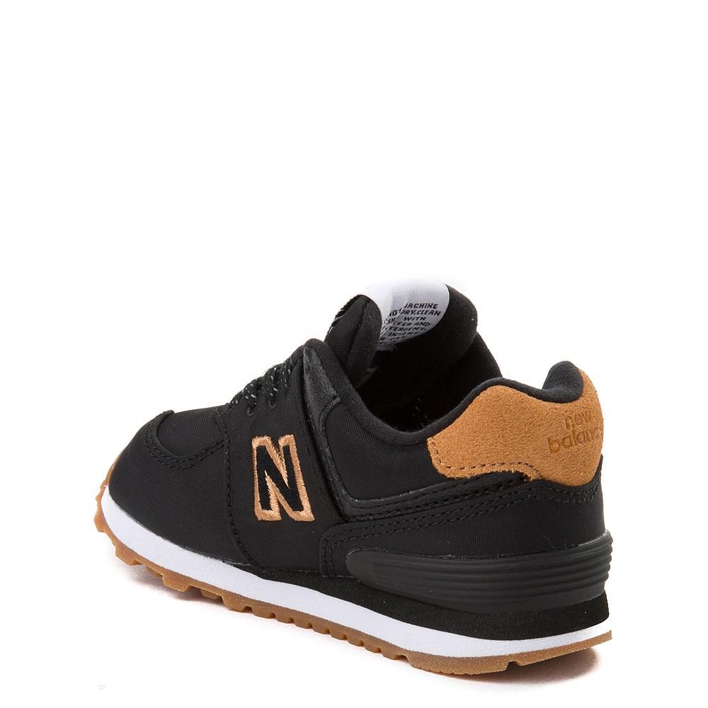 new balance 574 black and tan