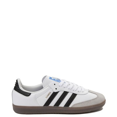 Main view of Womens adidas Samba OG Athletic Shoe - White / Black / Gum