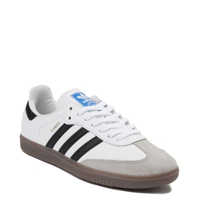 Alternate view of Womens adidas Samba OG Athletic Shoe - White / Black / Gum
