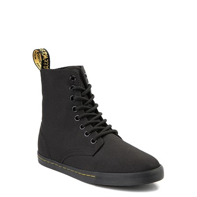 Alternate view of Dr. Martens Sheridan 8-Eye Boot - Little Kid - Black