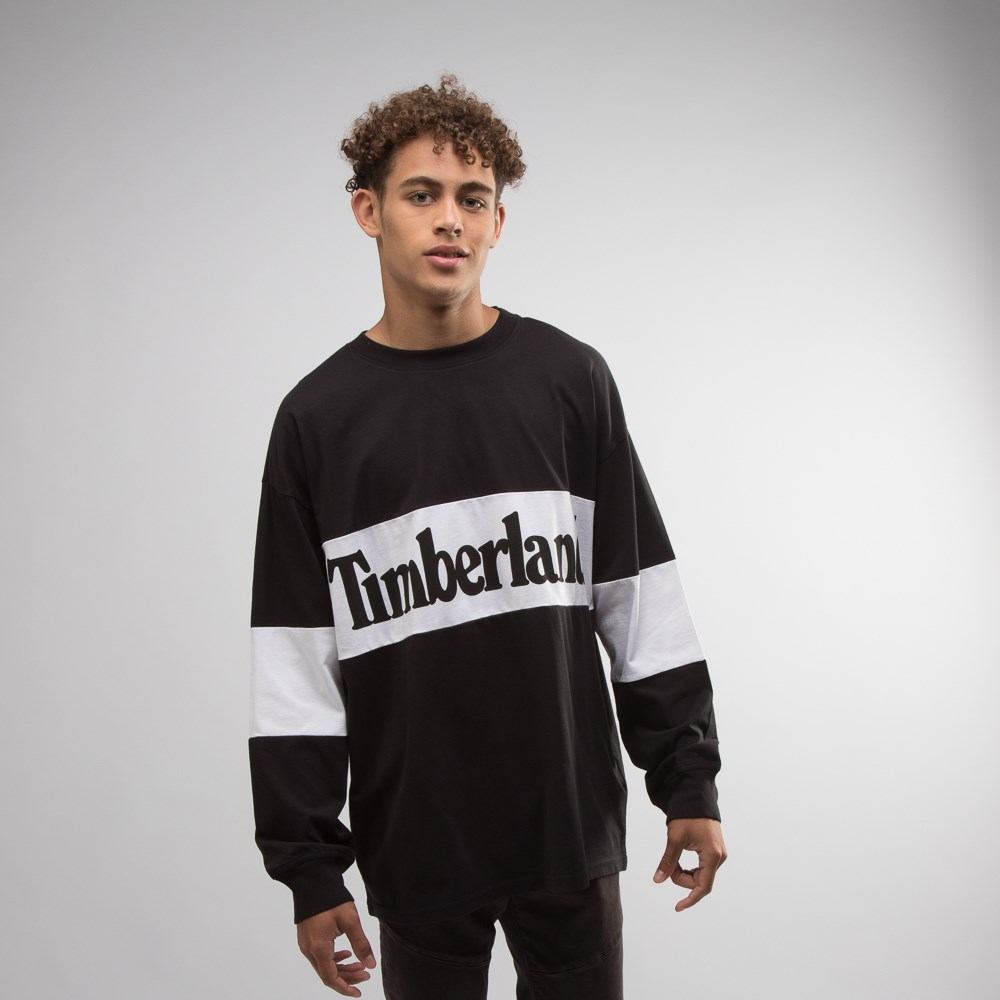 Mens Timberland Retro Long Sleeve Tee