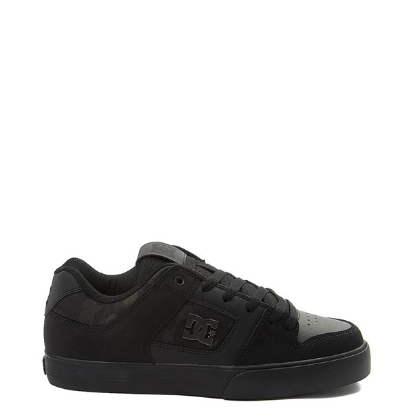 Mens DC Pure SE Skate Shoe - Black / Camo