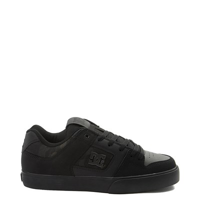 Main view of Mens DC Pure SE Skate Shoe - Black / Camo
