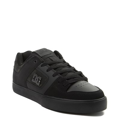 Alternate view of Mens DC Pure SE Skate Shoe - Black / Camo
