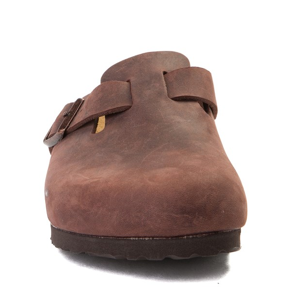 alternate view Womens Birkenstock Boston Leather Soft Footbed ClogALT4