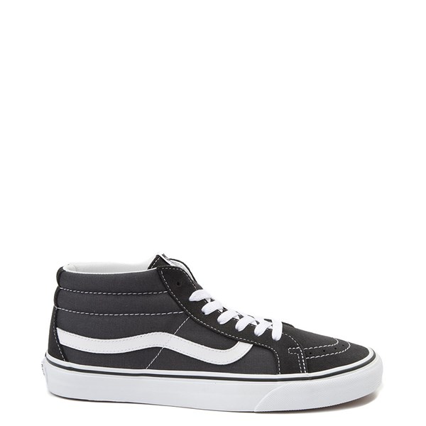 Default view of Vans Sk8 Mid Skate Shoe - Dark Gray