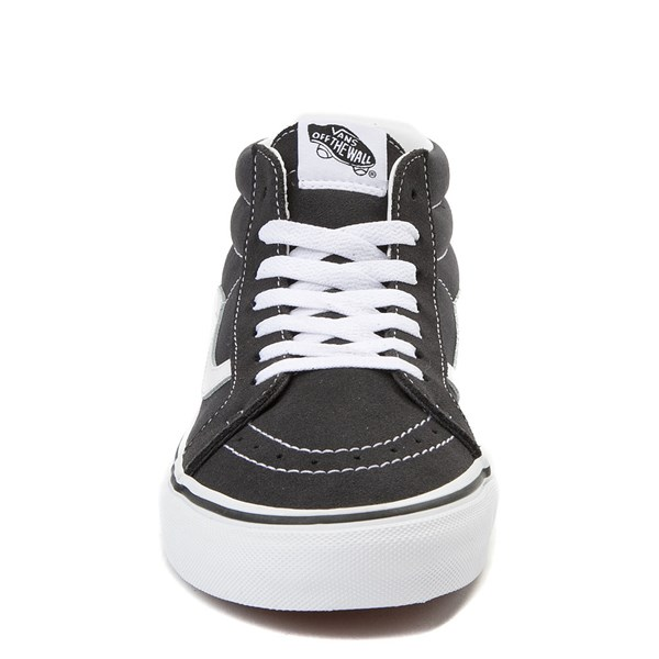 alternate view Vans Sk8 Mid Skate Shoe - Dark GrayALT4