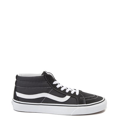 Main view of Vans Sk8 Mid Skate Shoe - Dark Gray