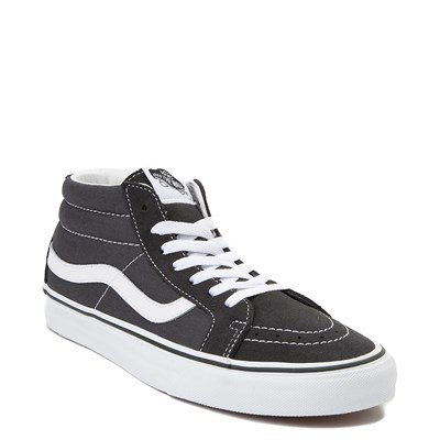 Alternate view of Vans Sk8 Mid Skate Shoe - Dark Gray