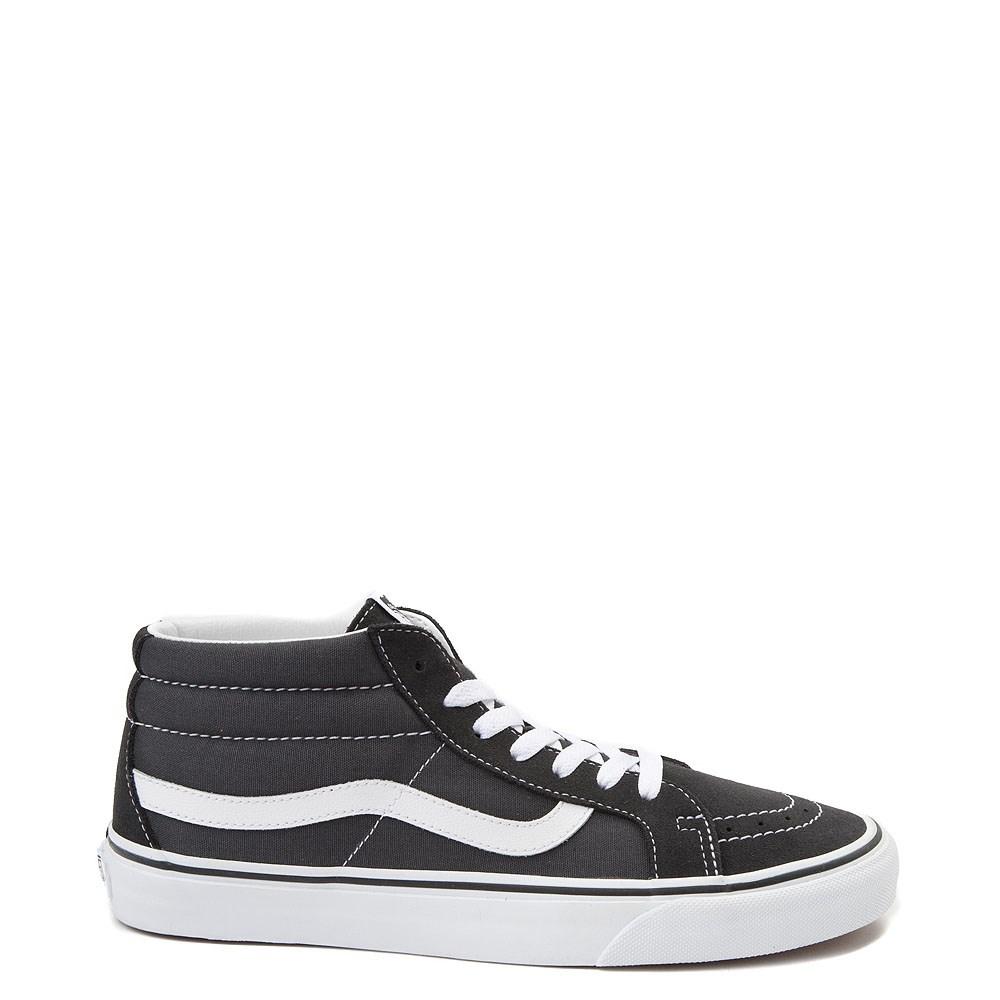 Vans Sk8 Mid Skate Shoe - Dark Gray